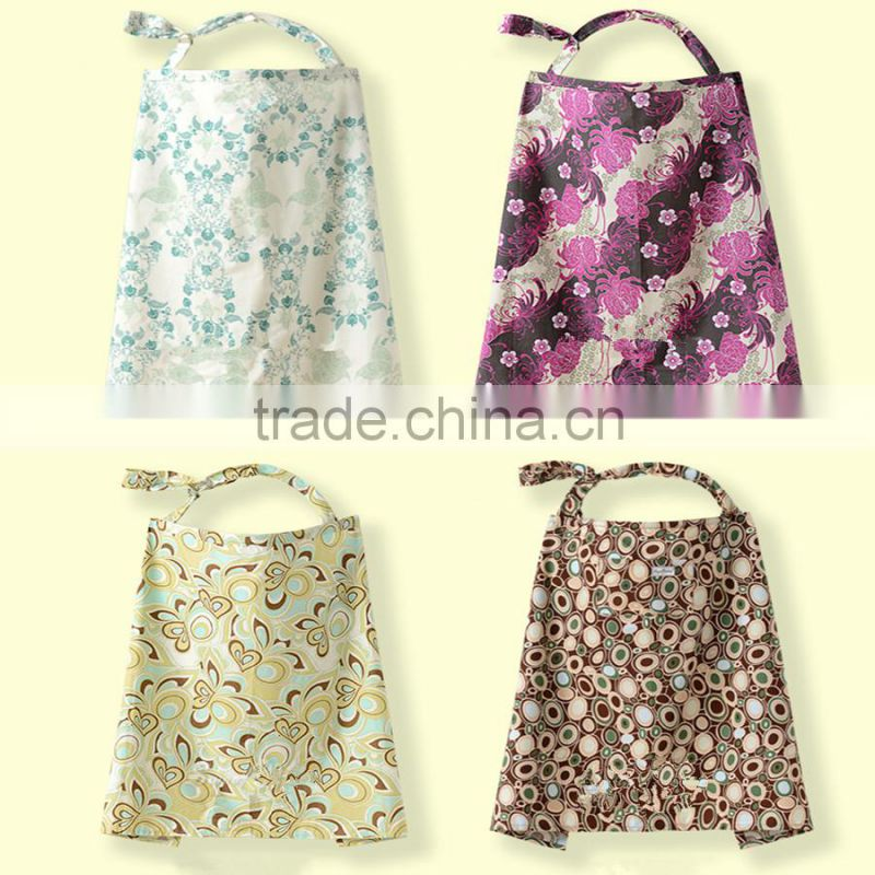 new arrival print 100% cotton breast feeding nursing cover