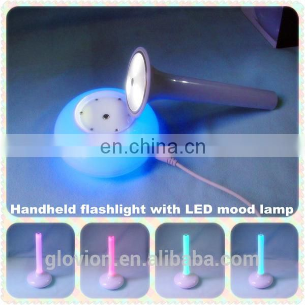 New design Night Light LED Rainbow lamp lamp with 7 color
