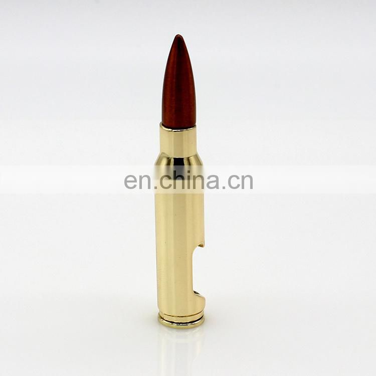 Wholesale promotional personalized Weapons bullet bottle opener