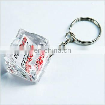 plastic key chain/key tag