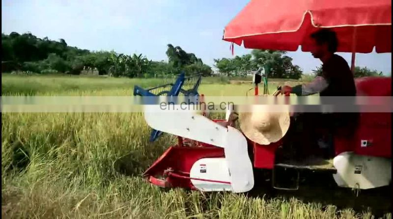 Grain Harvester Usage grain harvesting machine Image