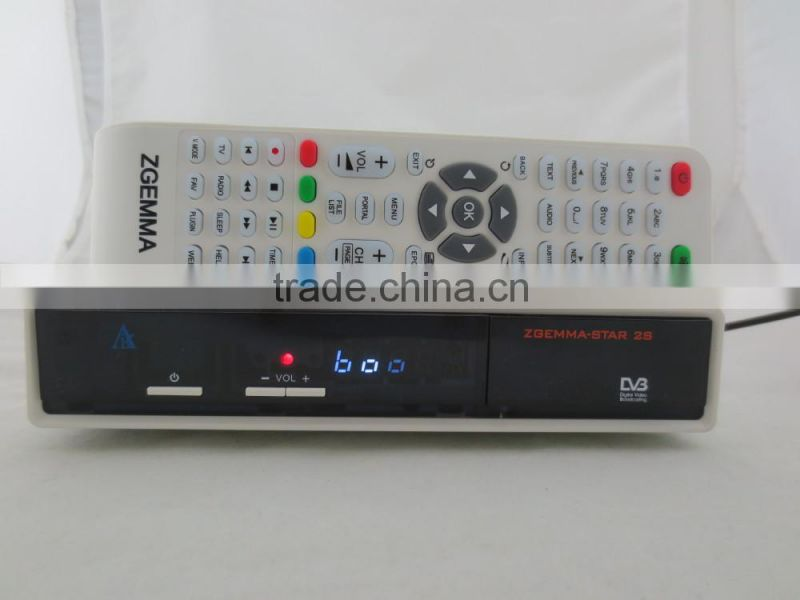 newest Zgemma-star 2S dvb-s2 digital tv receiver zgemma star