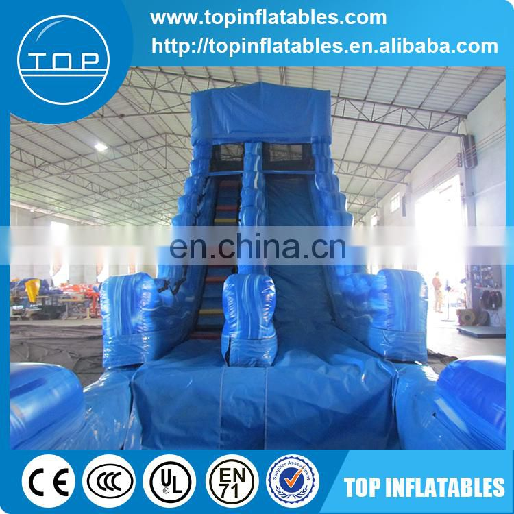 Giant inflatable floating water slide for sale