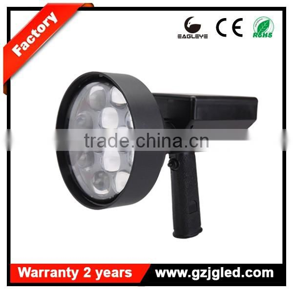 Guangzhou portable field lighting for military hunting handheld spotlight 36w