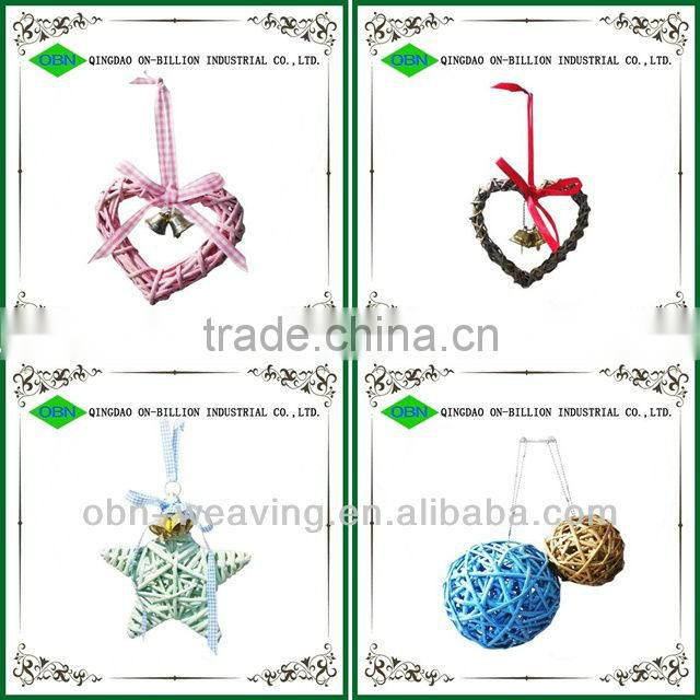Hot natural material christmas with bells