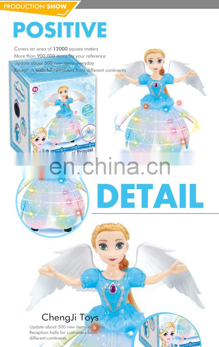 China manufacturers wholesale custom electric rotating ballerina doll