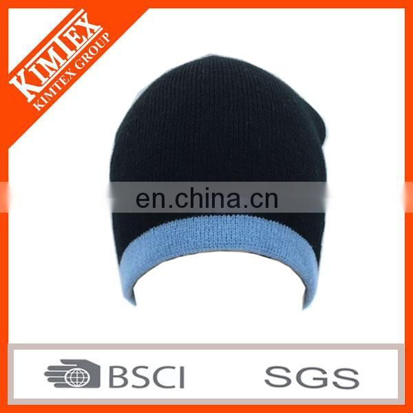 2017 Simple Pattern and 100% Acrylic Material Knitted sport hat