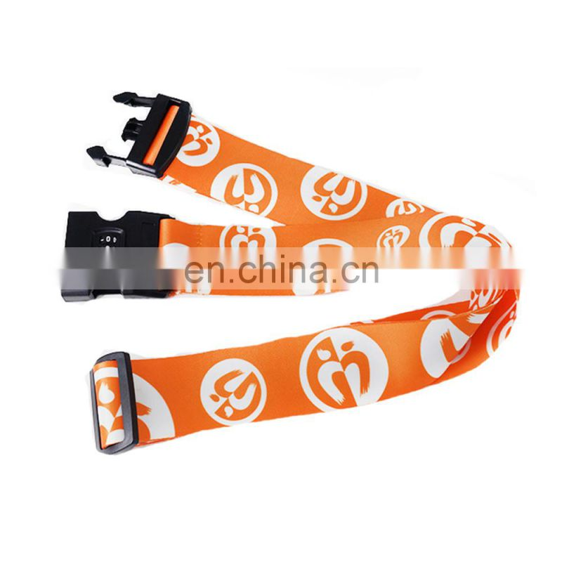 New design travel bag luggage strap/luggage scale strap with lock