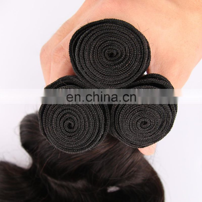 Nutural colors loose wave unprocessed humen hair with good smell