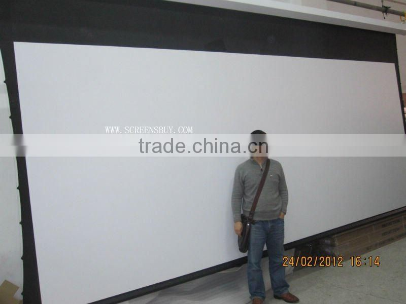 LOWER price motorized holographic screen fabric