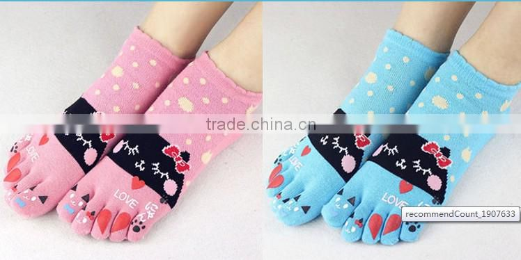 colorful white cute dots cotton socks