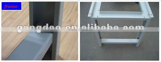 garage steel metal workbench worktable with drawers for electronics