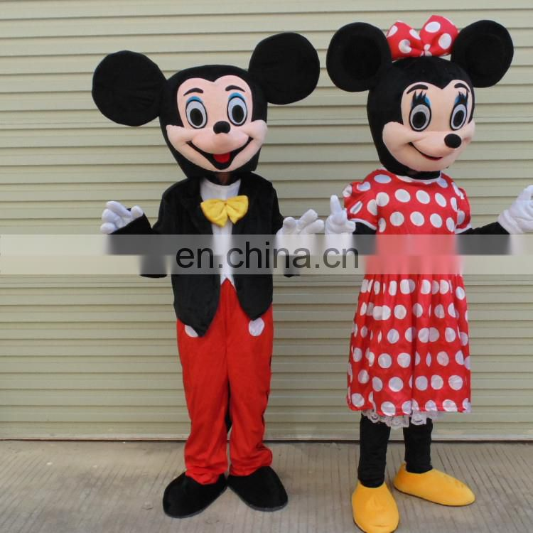Professional custom mascot costume adult cheap mickey costume