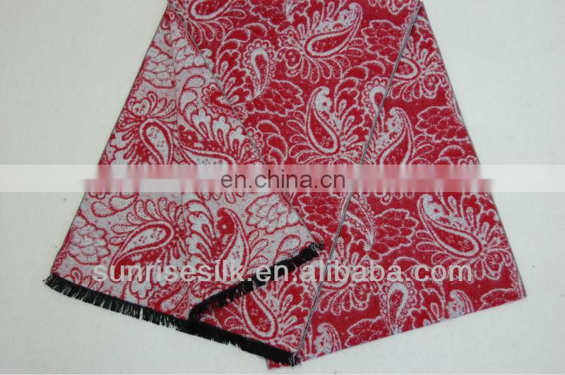 New fashion brushed Dyeing silk scarf