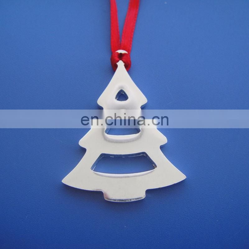 Engraved Stars Christmas Xmas Tree Star Hang Decoration Gift Pendant