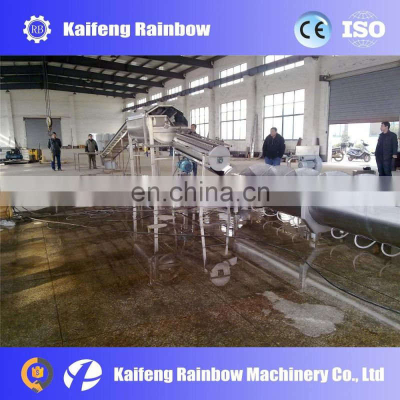 Slaughter Poultry Equipments Chicken Paw Process Peeling Machine