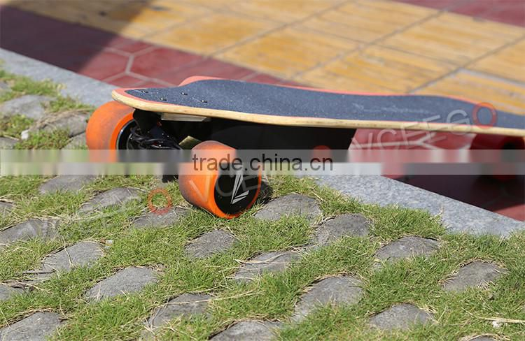 2016 dual 1100w brushless motor wireless controller for electric skateboard with remote control