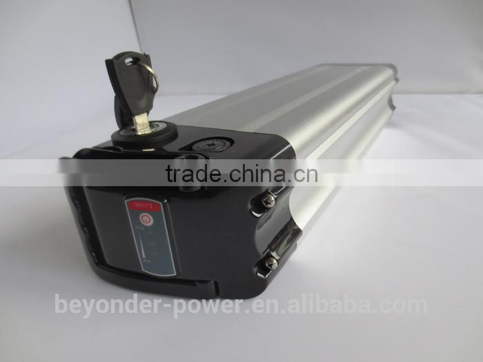 Hot selling best safe 36V10Ah 2000-2900mAh lithium ion battery silver case 18650 battery 30a made in China