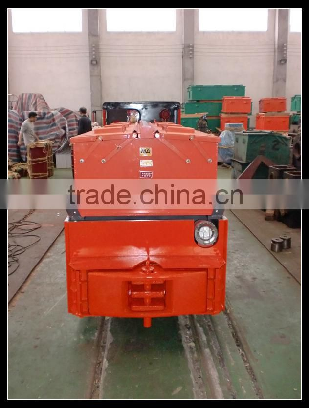 CTY18/9GB Locomotive For Coal Mine Underground Power Equipment, Battery Operated Locomotive (Max Traction 44.145KN)