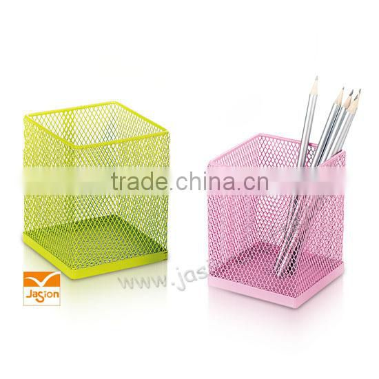 New design Metal Hollow Out Pen Holder / Iron Pen holder Wholesales with flower desgin