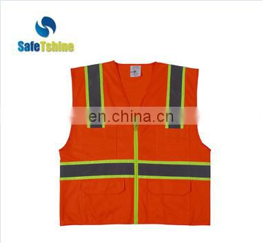 Hot selling safety high visibility custom Ansi standard Welding Safety Vest