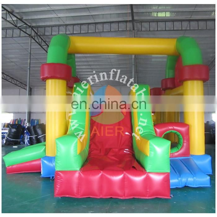 2016 Aier kids happy jumping house inflatable castle/inflatable happy land/inflatable castle house