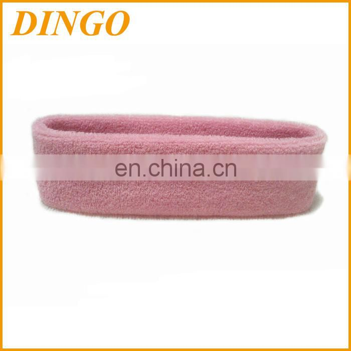 Certified Top Supplier Promotional Wholesale Custom Cotton Elastic Headband&Sport Head Band&Sports Cotton Headband