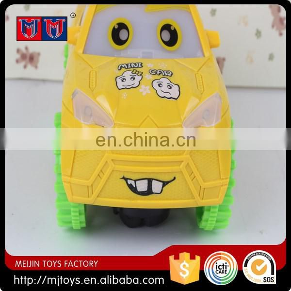 New lovely toys 2016 B/O car WL&M carton car toys for kids