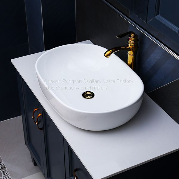 China Sanitary Ware Bathroom Tabletop Size New Design A