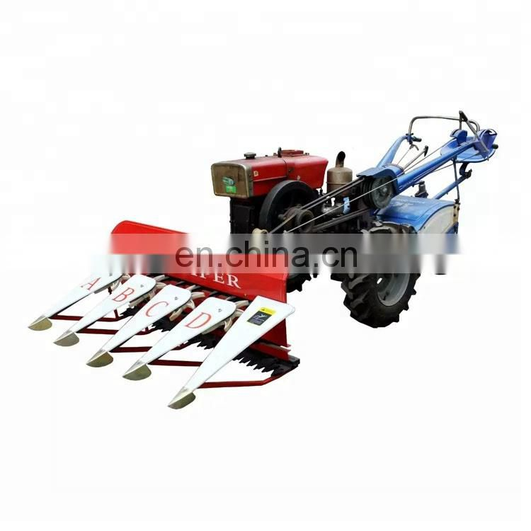 Multifunctional mini crops harvester machine/chili harvesting machine/fresh pepper harvester Image