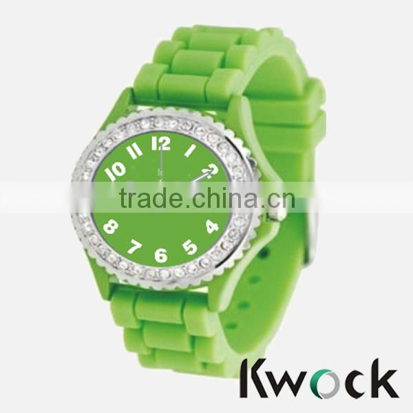 Silicone Material and Water Resistant Feature bracelet silicone watch