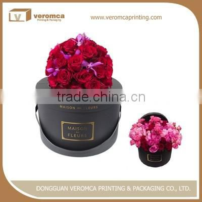 New design small round cardboard gift boxes