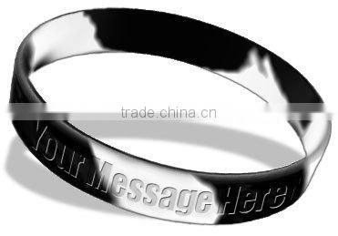 customized Anti-racism silicone wristband