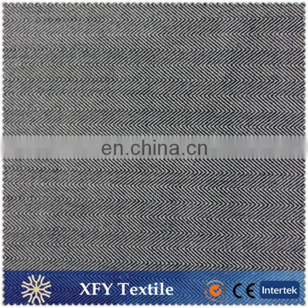 XFY dobby polyester rayon spandex fabric for suit