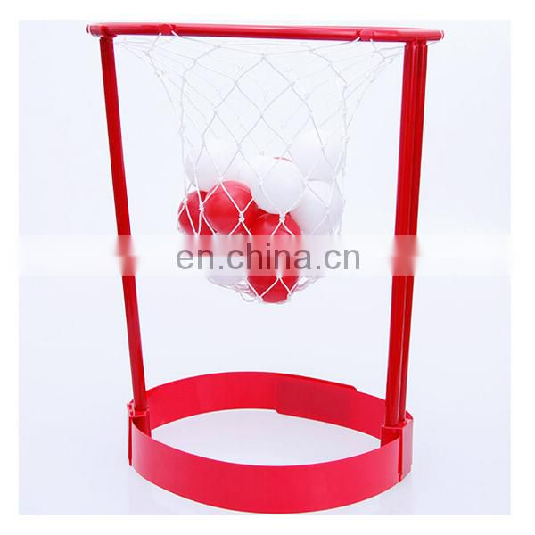 Portable Basket Case Game ,Headband Hoop Game With 20 Balls