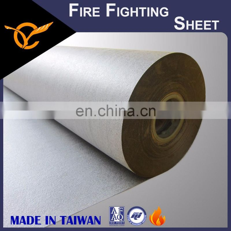 Hot Selling Fireproof Fabric High Expandable Rate Fireproof Paper