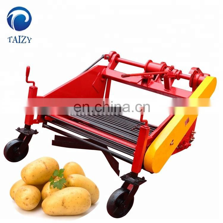 Mini tractor potato harvester Onion harvester for sale Peanut combine harvester Image