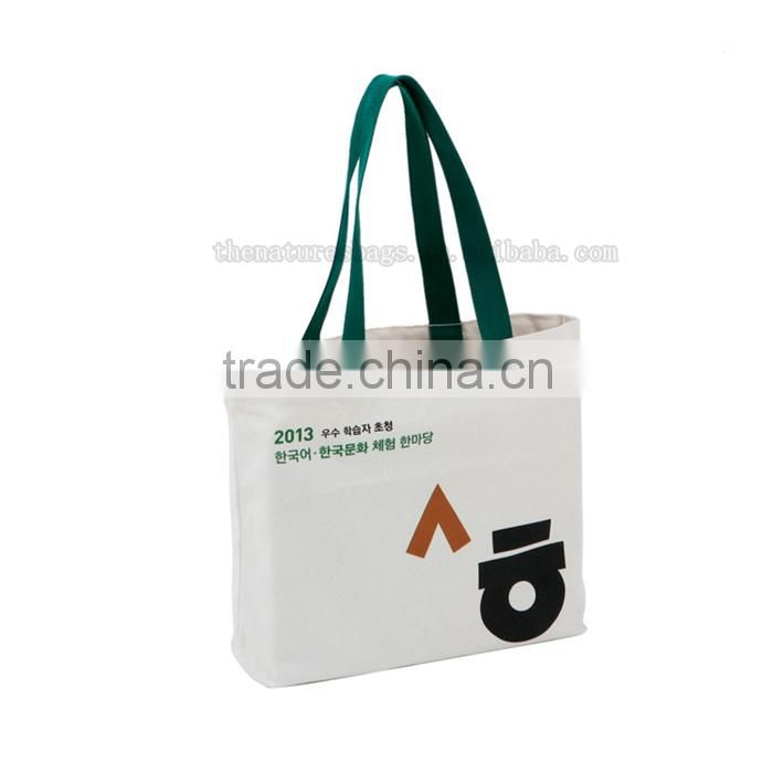 Direct Price Advertising Promotion Custom Printed Logo Comfort Tote Cotton Foldable Canvas Bag