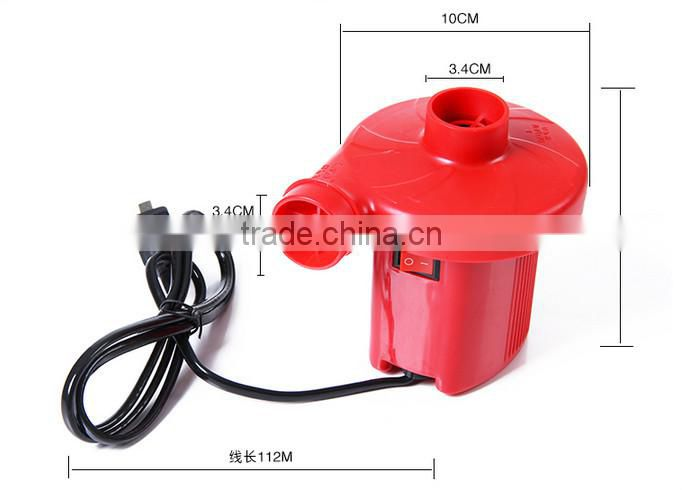 manufacturer direct sale family use AC 220V-240V for air bed air boat air swimming pool sofa Electric air pump