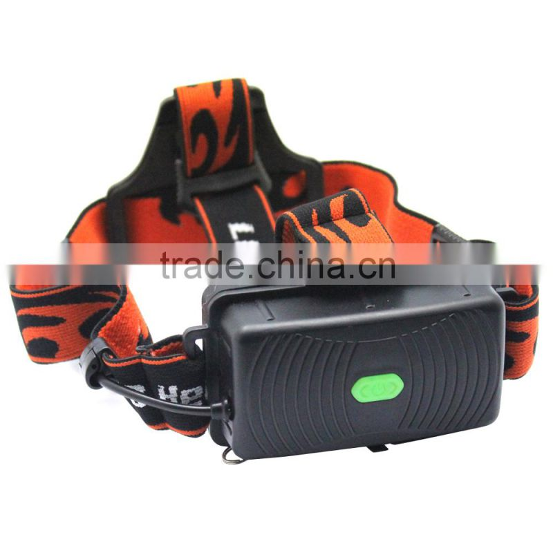 1200LM XML T6 2 Mode Adjustable LED Headlamp Camping