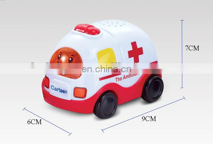 6 pcs within display box kids toy wind up plastic car