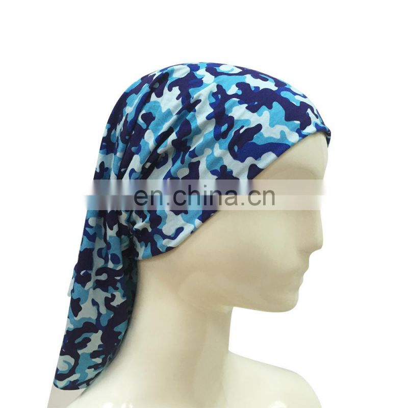Hot Sell Personality Camouflage Hair Wrap Bandana