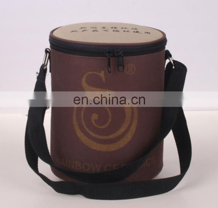 oxford round cooler bag
