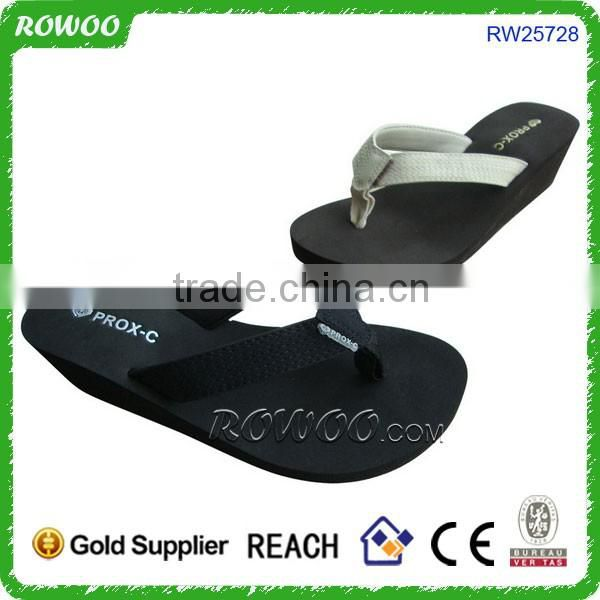 Wholesale China Cheap custom scream eva slipper woman,wedge flip flop woman