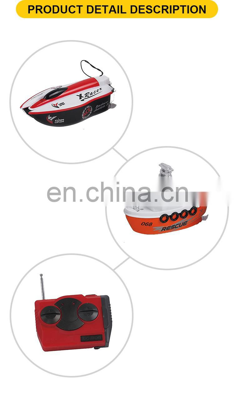 Racing 4 channel rc toys remote control boat for kids