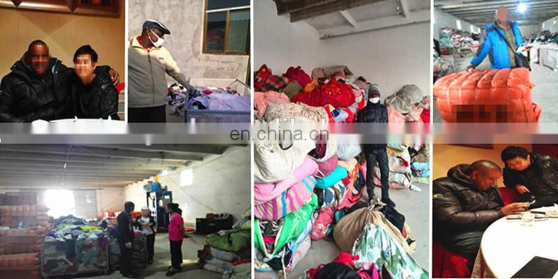 used clothing factories in china