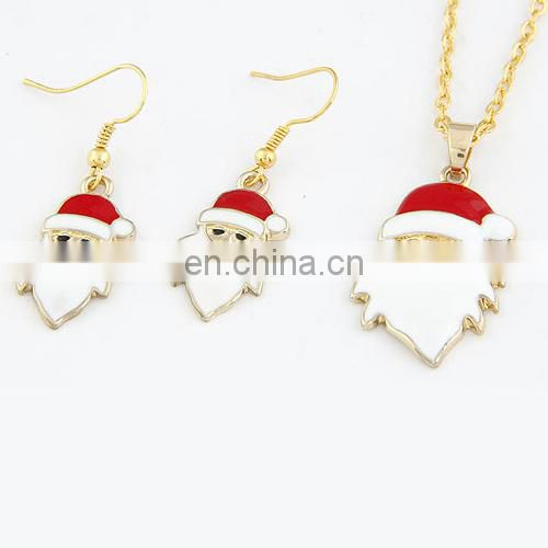 Changeable Santa Claus Style Alloy Women Jewelry Set