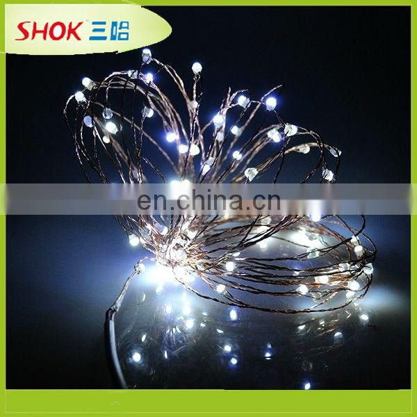 decoration led tree lighting ,Star shaped string lights