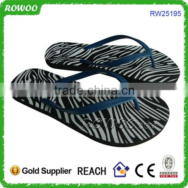 Transparent ladies jelly flip flops sandals