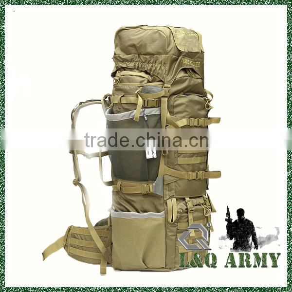 Mexico Military Outdoor 85L Travel Backpack Large Capacity Rucksack